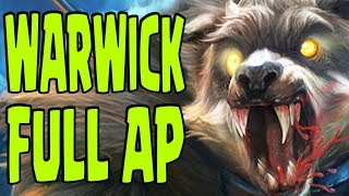 URF Funny Moments [#5] - Warwick Full AP OP & Fizz is a Busted CHAMPION [Lol Funny Moments]