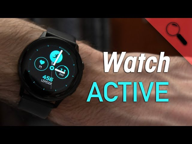 Samsung Galaxy Watch Active - tekerő nélkül