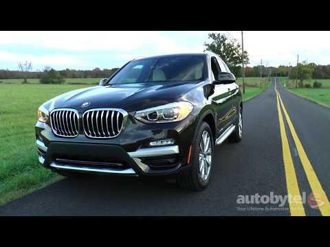 2018 BMW X3 xDrive30i Test Drive Video Review