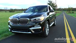 2018 BMW X3 xDrive30i Test Drive Video Review