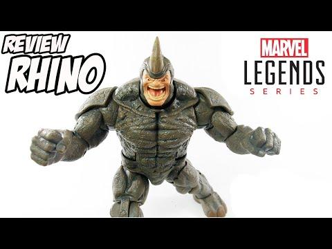 Review RHINO BAF Marvel Legends Spider-Man Homem-Aranha boneco brinquedo figura de ação montagem toy