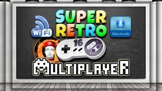 🔴Como jogar multiplayer wifi e bluetooth no Super Retro 16 Pró