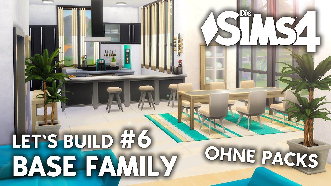 Die Sims 4 Haus bauen ohne Packs | Base Family #6: Küche & Esszimmer  (deutsch)