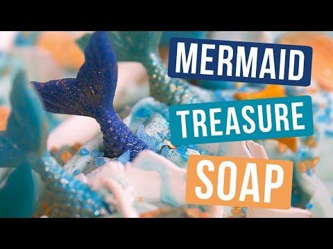 Mermaid Treasure Soap | Royalty Soaps