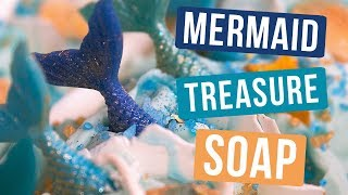 Mermaid Treasure Soap | Royalty Soaps