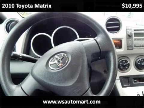 2010 Toyota Matrix Used Cars St Augustine FL