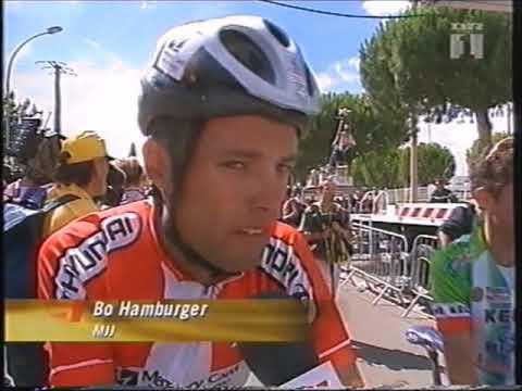 Tour de France 2000 - stage 13(highlights) - García Acosta in breakaway, Zülle & Jalabert interview