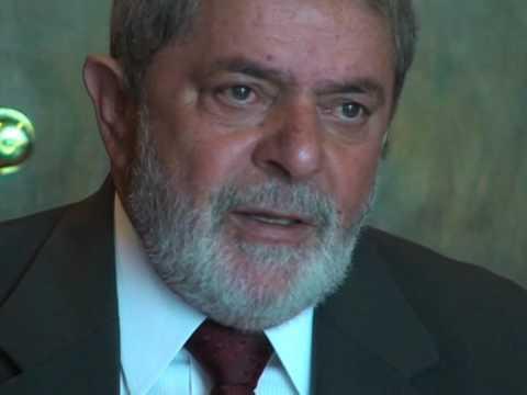 Brazilian President Lula speaks to AFPTV