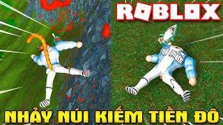 Roblox | CHƠI NGU TẬP 5: NHẢY NÚI NÁT XƯƠNG ĐỂ KIẾM TIỀN ĐÔ - Broken Bones IV | KiA Phạm