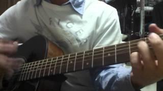 ギターも歌も英語も難しいです。完全に勢い任せです。 もっと練習して更...