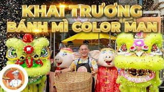 50 năm 1 giấc mơ làm xe Bánh Mì ColorMan nhỏ như cái lỗ mũi 12k 1 ổ !!!