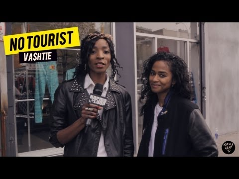 Vashtie goes vintage shopping in the Lower East Side, NYC | NO TOURIST | Episode 1