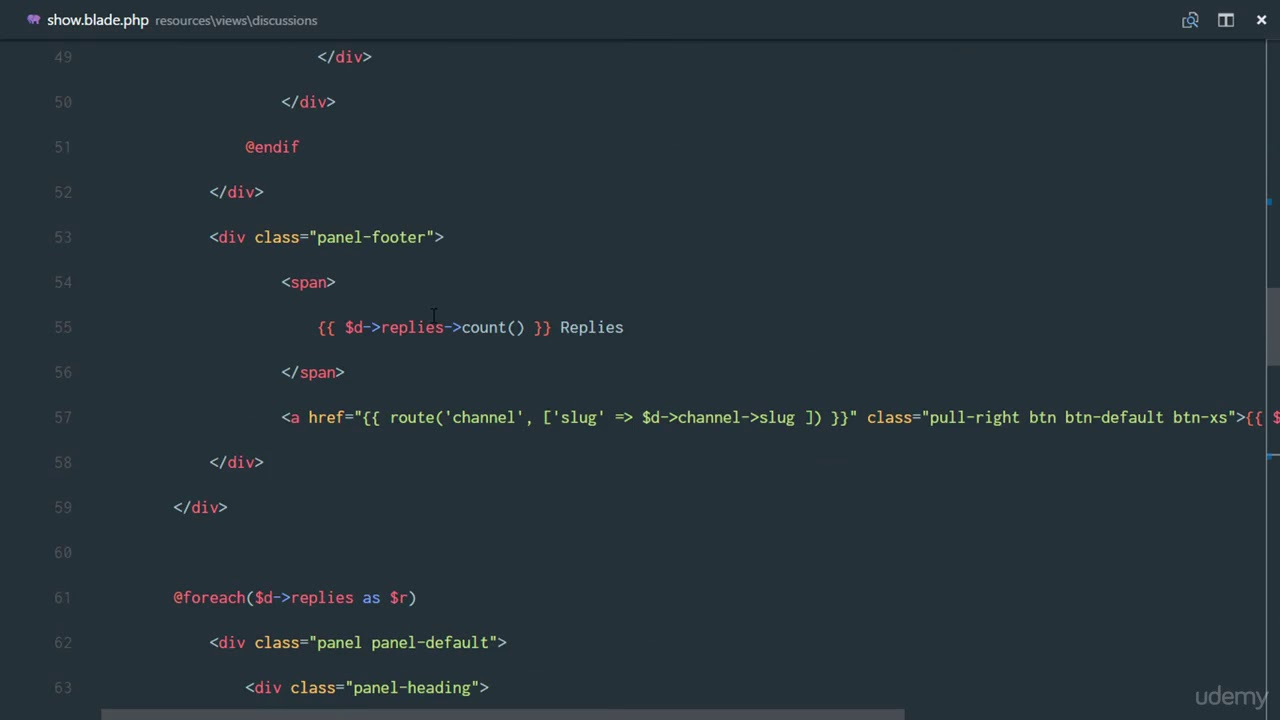 Udemy best laravel - 110 Fix Markdown