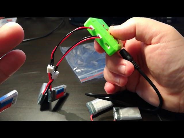 Banggood Unboxing - Eachine E011 3 7V 260MAH 30C Battery Charger Set