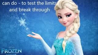 Let It Go Karaoke in B major 3 pitch