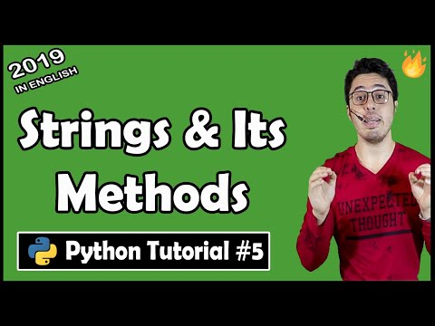 Python strings and built in string methods   Python Tutorial #5 thumbnail