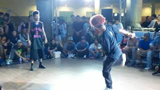 Bgirl Sam vs Bboy Africano Battle Top Rock - Hip Hop Genesis 2018