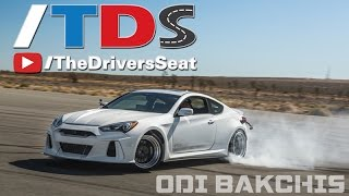 Drift Like a Pro with Odi Bakchis in the SEMA Hyundai Genesis Coupe