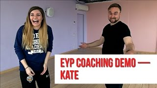 Yoga coaching demo — Kate