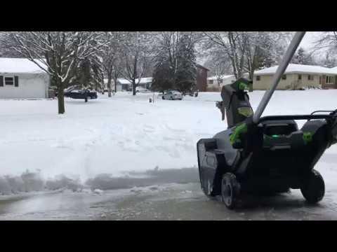 Ego 21 Inch 56volt Snt2100 Snow Blower Review Doovi