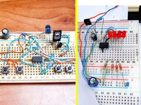 Simple 4-channel ON-OFF remote control