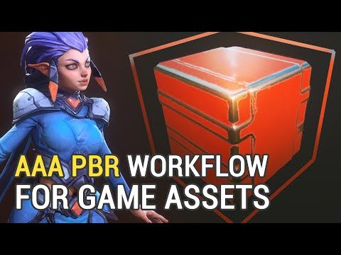 AAA PBR Workflow For Game Assets