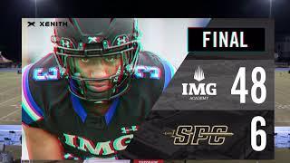 2020 IMG Academy Football (Varsity) vs. St. Pete Catholic