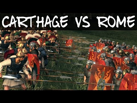 Total War Rome 2 Online Battle 186 Carthage Vs Rome