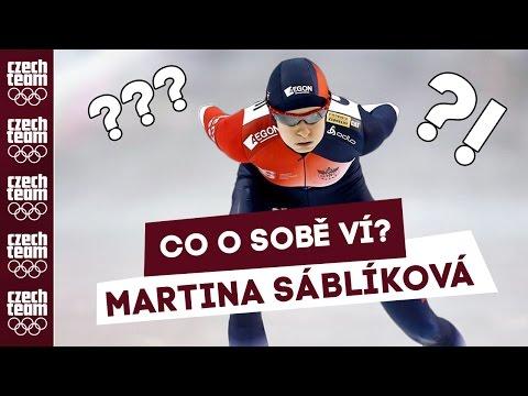 FUNNY SRANDY: Co o sobě ví Martina Sáblíková?