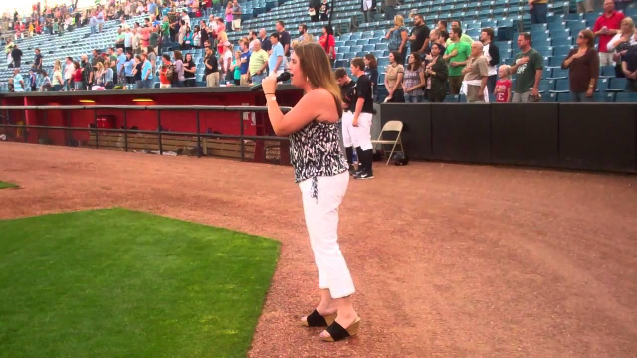 Lisa Sparks Singing National Anthem