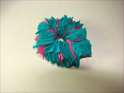 Colitas/Gomitas/elásticos para el cabello con flecos! Busquen el tutorial en mi canal )