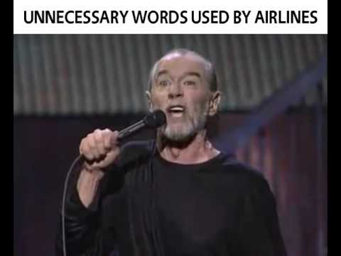 Word usage by airlines