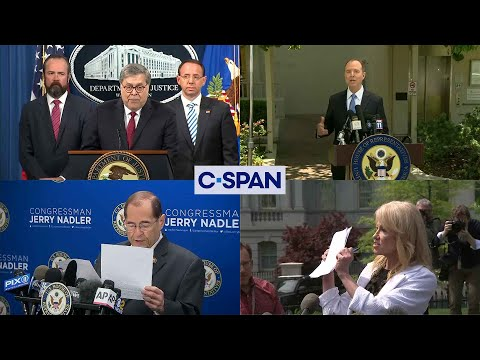 Word for Word: Mueller Report Released (C-SPAN)