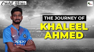 Khaleel Ahmed: A cricketer who overcame economic hardships to pursue his dream