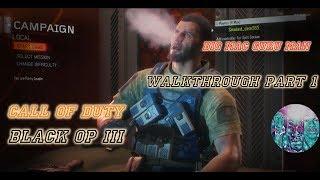 Call of Duty Black Ops III walkthrough part 1