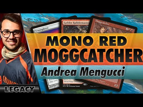 Mono-Red Moggcatcher - Legacy | Channel Mengucci