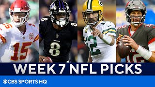 Picks for EVERY BIG Week 7 NFL Game | Picks to Win, Best Bets, & MORE | CBS Sports HQ screenshot 2