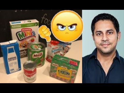 [MALAYSIAN MUST WATCH] Nestlé Conspiracy  Part 2: Milo, sugar content and obesity