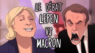 Résumé du débat Lepen VS Macron - ACTU ANIMÉE #13