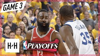 James Harden vs Kevin Durant - Full Game 3 Duel Highlights Rockets vs Warriors 2018 NBA Playoffs WCF