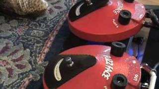 Fuzzface SHOOTOUT Dunlop era Dallas Arbiter vs current version Les Paul & Blues Jr amp