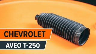 Come sostituire Ammortizzatori CHEVROLET AVEO Saloon (T200) - video gratuito online