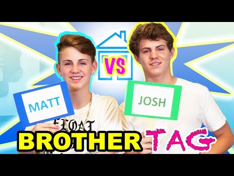 Thumbnail: The Brother Tag (MattyBRaps vs Josh)