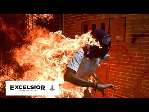 Entrevista al fotógrafo venezolano Ronaldo Schemidt, nominado a World Press Photo