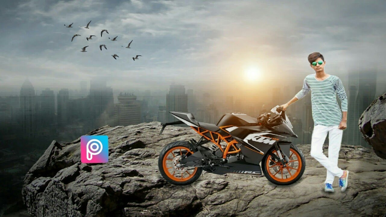 Background Images For Editing Hd Bike: Ktm Bike Picsart Background