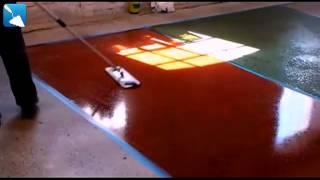 Краска по бетону для пола