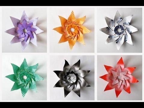 Paper Flower Origami Ball