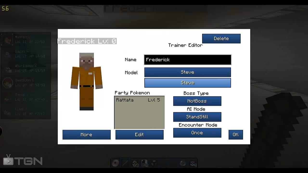 Pixelmon How To Use Spawner / Trainer Editor