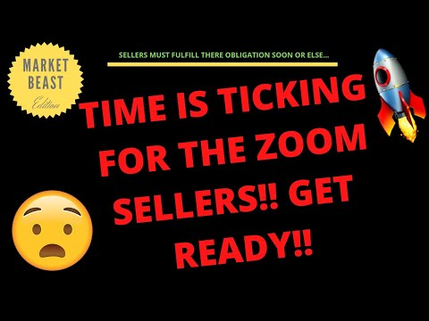 TIME IS TICKING FOR THE ZOOM SELLERS!! GET READY!! PRICE PREDICTION | TECHNICAL ANALYSIS