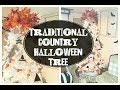 Traditional Country Halloween Tree| 2018